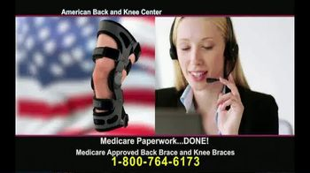 American Back and Knee Center TV Spot, 'Back and Knee Braces' - Thumbnail 5
