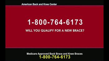 American Back and Knee Center TV Spot, 'Back and Knee Braces' - Thumbnail 6