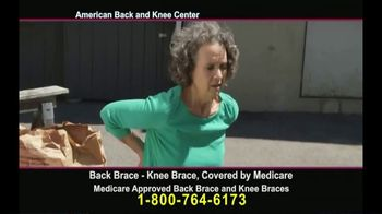American Back and Knee Center TV Spot, 'Back and Knee Braces' - Thumbnail 8