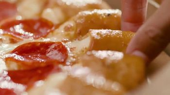 Pizza Hut Cheesy Bites Pizza TV Spot, 'Cheesy Bites Pizza Season Is Back!' - Thumbnail 2