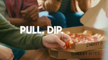 Pizza Hut Cheesy Bites Pizza TV Spot, 'Cheesy Bites Pizza Season Is Back!' - Thumbnail 3