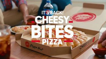 Pizza Hut Cheesy Bites Pizza TV Spot, 'Cheesy Bites Pizza Season Is Back!' - Thumbnail 6