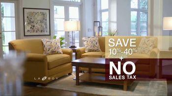 La-Z-Boy 4 Day Sale TV Spot, 'Favorite Spot: No Sales Tax' - Thumbnail 8
