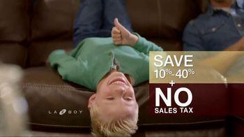 La-Z-Boy 4 Day Sale TV Spot, 'Favorite Spot: No Sales Tax' - Thumbnail 9