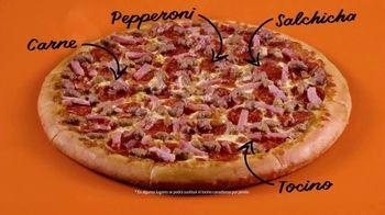 Little Caesars Pizza Hot-N-Ready 5 Meat Feast TV Spot, 'Carnes' [Spanish] - Thumbnail 6