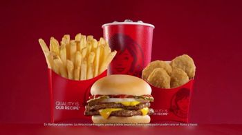 Wendy's 4 for $4 Meal TV Spot, 'Cada ocasión es especial.' [Spanish]