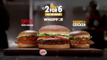 Burger King 2 for $6 Mix or Match TV Spot, 'Llévate dos' [Spanish] - Thumbnail 6
