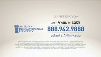 American InterContinental University TV Spot, 'Hats' - Thumbnail 10