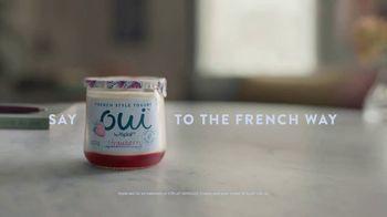 Yoplait Oui Sea Salt Caramel TV Spot, 'Upside Down' - Thumbnail 9