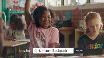 Amazon TV Spot, 'Back to School: Rainbow Unicorn' - 1610 commercial airings