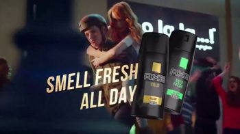 Axe Gold Body Spray TV Spot, 'Work All Day' Song by Shanice Ross - Thumbnail 10