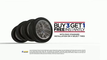 National Tire & Battery TV Spot, 'Top Brand Tires: Buy Three, Get One Free' - Thumbnail 6