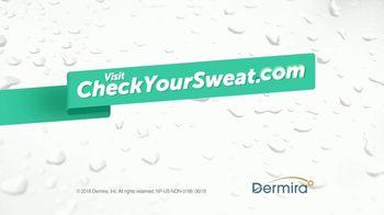 Check Your Sweat TV Spot, 'Hyperhidrosis: The Underhug' - Thumbnail 10