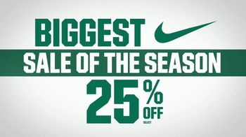 Dick's Biggest Nike Sale of the Season TV Spot, 'Back to School'