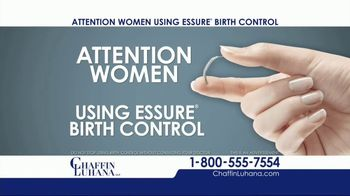 Chaffin Luhana TV Spot, 'Essure Birth Control'