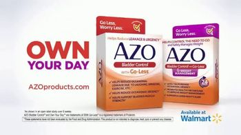 Azo Bladder Control TV Spot, 'I've Had It' - Thumbnail 10