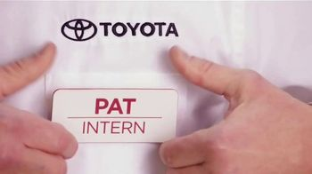 Toyota TV Spot, 'Pat the Intern' [T2] - Thumbnail 1