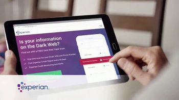 Experian Dark Web Triple Scan TV Spot, 'Fight Back' - Thumbnail 3