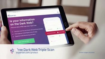 Experian Dark Web Triple Scan TV Spot, 'Fight Back' - Thumbnail 4