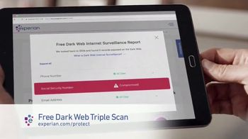 Experian Dark Web Triple Scan TV Spot, 'Fight Back' - Thumbnail 6