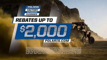 Polaris Factory Authorized Clearance TV Spot, 'The Year's Biggest Deals' - Thumbnail 6