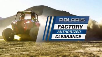Polaris Factory Authorized Clearance TV Spot, 'The Year's Biggest Deals' - Thumbnail 1