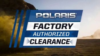 Polaris Factory Authorized Clearance TV Spot, 'The Year's Biggest Deals' - Thumbnail 5