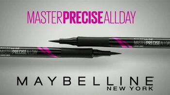 Maybelline Master Precise All Day TV Spot, 'Precisión' [Spanish]