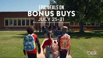 Belk Make It Epic TV Spot, ' Back to School: Bonus Buys'