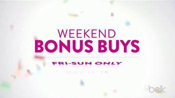 Belk Days TV Spot, 'Back to School Bonus Buys: Pants, Dresses and Shoes'