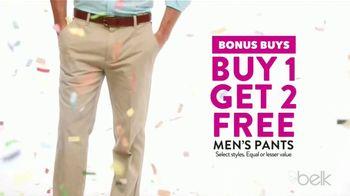 Belk Days TV Spot, 'Back to School Bonus Buys: Pants, Dresses and Shoes' - Thumbnail 3