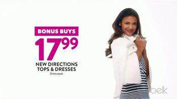 Belk Days TV Spot, 'Back to School Bonus Buys: Pants, Dresses and Shoes' - Thumbnail 4