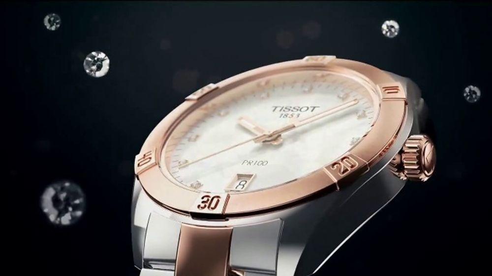 Tissot Pr100 Lady Sport Chic Tv Commercial Diamond