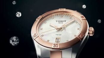 Tissot PR100 Lady Sport Chic TV Spot, 'Diamond'