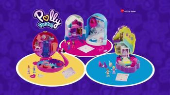 Polly Pocket Compacts TV Spot, 'Pool Party' - Thumbnail 10