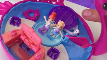 Polly Pocket Compacts TV Spot, 'Pool Party' - Thumbnail 6