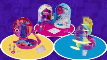 Polly Pocket Compacts TV Spot, 'Pool Party' - Thumbnail 9