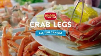 Golden Corral All You Can Eat Crab Legs TV Spot, 'Enjoy a Feast' - Thumbnail 2