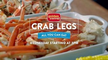 Golden Corral All You Can Eat Crab Legs TV Spot, 'Enjoy a Feast' - Thumbnail 3