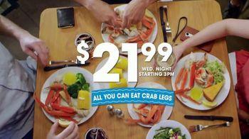 Golden Corral All You Can Eat Crab Legs TV Spot, 'Enjoy a Feast' - Thumbnail 5