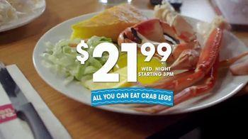 Golden Corral All You Can Eat Crab Legs TV Spot, 'Enjoy a Feast' - Thumbnail 8