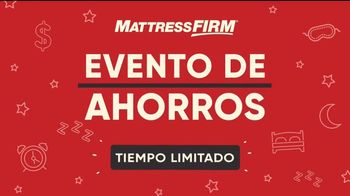 Mattress Firm Evento de Ahorros TV Spot, 'Tiempo limitado' [Spanish] - Thumbnail 8