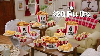 KFC $20 Fill Ups TV Spot, 'Feed a Family of Four' - Thumbnail 2