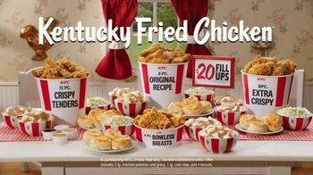 KFC $20 Fill Ups TV Spot, 'Feed a Family of Four' - Thumbnail 9