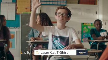 Amazon TV Spot, 'Back to School: Laser Cat' - Thumbnail 9