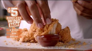 Popeyes $5 Boneless Wing Bash TV Spot, 'Flavor Town' - Thumbnail 10