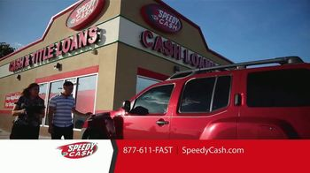 Speedy Cash Title Loans TV Spot, 'Keep Your Keys, Keep Your Car'