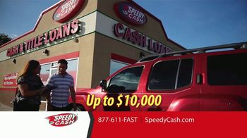 Speedy Cash Title Loans TV Spot, 'Keep Your Keys, Keep Your Car' - Thumbnail 4