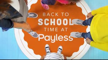 Payless Shoe Source TV Spot, 'Back-to-School With Payless'