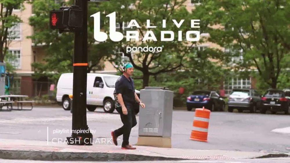 Pandora Radio TV Commercial, 'Inspired by Crash Clark'